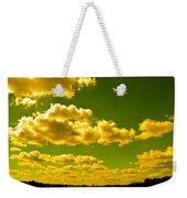 Yellow Skies Weekender Tote Bag