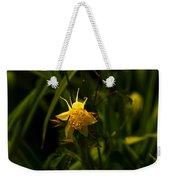 Yellow Splendor Weekender Tote Bag