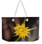 Yellow Star Flower Weekender Tote Bag