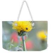 Yellow Star-thistle Weekender Tote Bag