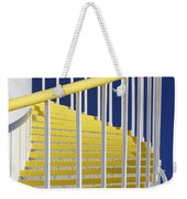 Yellow Steps On Tank Weekender Tote Bag