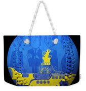 Yellow Submarine Baseball Square Weekender Tote Bag