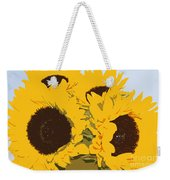 Yellow Sunflowers Weekender Tote Bag