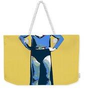 Yellow Superman Weekender Tote Bag