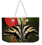 Yellow Swallowtail Butterfly  Weekender Tote Bag