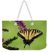 Yellow Swallowtail Weekender Tote Bag