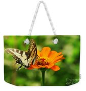 Yellow Swallowtail Weekender Tote Bag