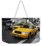Yellow Taxi Color Pop Weekender Tote Bag