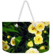 Yellow Tea Rose  Happy Mother's Day Weekender Tote Bag