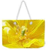 Yellow Tenderness Weekender Tote Bag