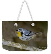 Yellow-throated Warbler Weekender Tote Bag
