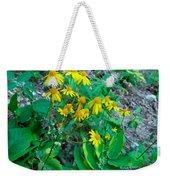 Yellow Tilt Weekender Tote Bag