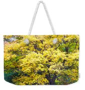 Yellow Tree Weekender Tote Bag