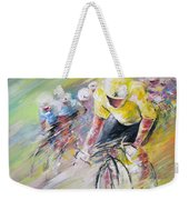 Yellow Triumph Weekender Tote Bag