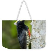 Yellow-tufted Woodpecker Weekender Tote Bag