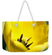 Yellow Tulip Cup Weekender Tote Bag