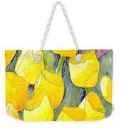 Yellow Tulips 2 Weekender Tote Bag