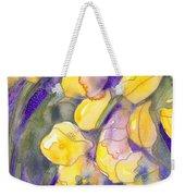 Yellow Tulips 3 Weekender Tote Bag