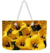 Golden Tulips In Full Bloom Weekender Tote Bag