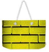 Yellow Wall Weekender Tote Bag
