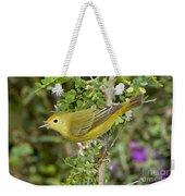 Yellow Warbler Hen Weekender Tote Bag