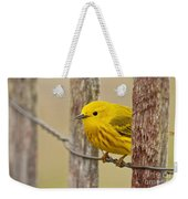 Yellow Warbler Pictures 90 Weekender Tote Bag