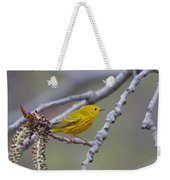 Yellow Warbler Weekender Tote Bag