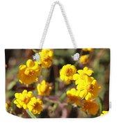 Yellow Wild Flowers Weekender Tote Bag