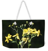 Yellow Wildflowers Weekender Tote Bag