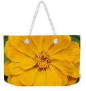 Yellow Zinnia Weekender Tote Bag