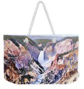 Yellowstone Canyon Yellowstone Np Weekender Tote Bag