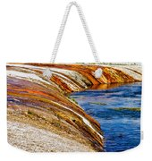 Yellowstone Earthtones Weekender Tote Bag by Bill Gallagher