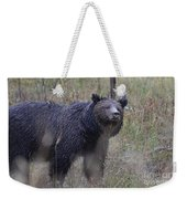 Yellowstone Grizzly Weekender Tote Bag