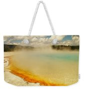 Yellowstone Hot Springs Weekender Tote Bag