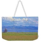 Yellowstone Lake In Yellowstone National Park-wyoming- Weekender Tote Bag