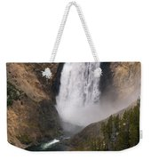 Yellowstone Lower Falls Weekender Tote Bag