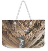 Yellowstone National Park Montana  3 Panel Composite Weekender Tote Bag