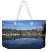 Yellowstone National Park - Mountain Lake Weekender Tote Bag