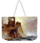 Yellowstone Tower Falls Weekender Tote Bag