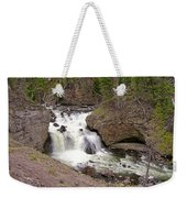 Yellowstone Waterfalls Weekender Tote Bag