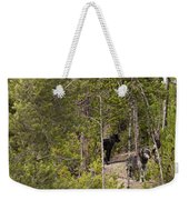 Yellowstone Wolves Weekender Tote Bag