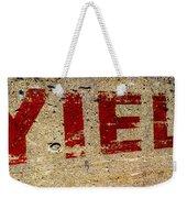 Yield Weekender Tote Bag