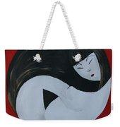 Yin Yang Maternity Weekender Tote Bag