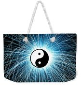 Yin Yang Weekender Tote Bag by Tim Gainey