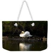 Yogi Swan Weekender Tote Bag
