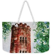Yokahu Tower  Weekender Tote Bag by Zaira Dzhaubaeva