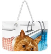 Yorkshire Terrier - This Is The Life Weekender Tote Bag