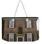 Yorktown Customs House Weekender Tote Bag by Teresa Mucha