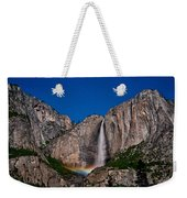 Yosemite Falls Moonbow Weekender Tote Bag