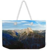 Yosemite Glacier Point Panorama Weekender Tote Bag